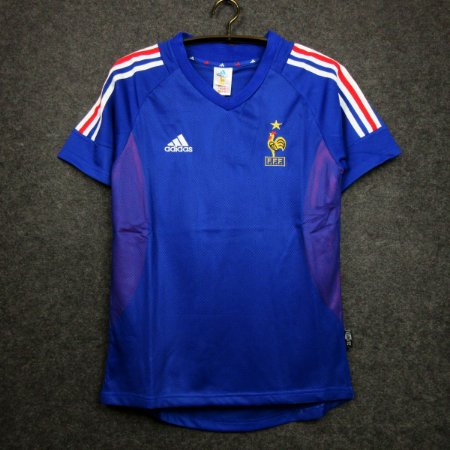 Camisa França 2002  (Home-Uniforme 1) - Copa do Mundo