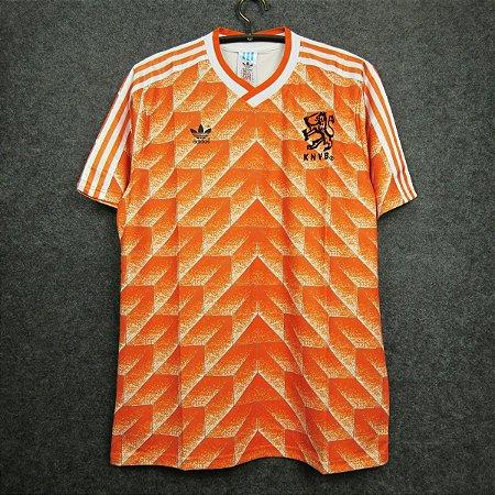 Camisa Holanda 1988 (Home-Uniforme 1) - Eurocopa (jogador)