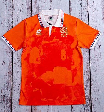 Camisa Holanda 1996 (Home-Uniforme 1)  - Eurocopa