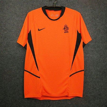 Camisa Holanda 2002 (Home-Uniforme 1)