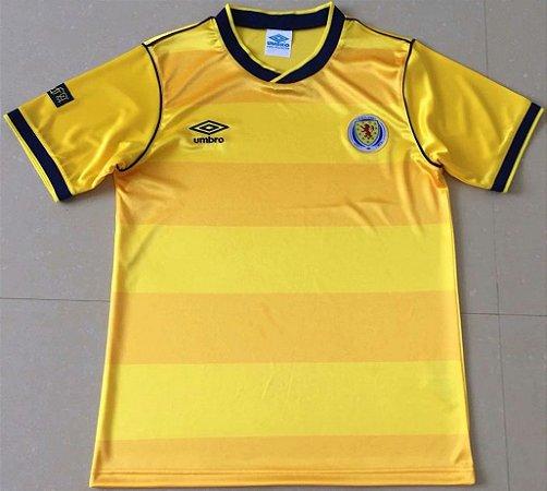 Camisa Escócia 1986 (Away-Uniforme 2)