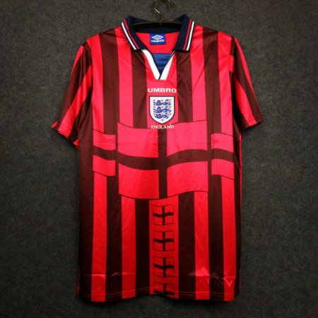 Camisa Inglaterra 1998 (Away-Uniforme 2) - Copa do Mundo