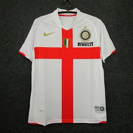 Camisa Internazionale 2007-2008 (Away-Uniforme 2) - Centenário