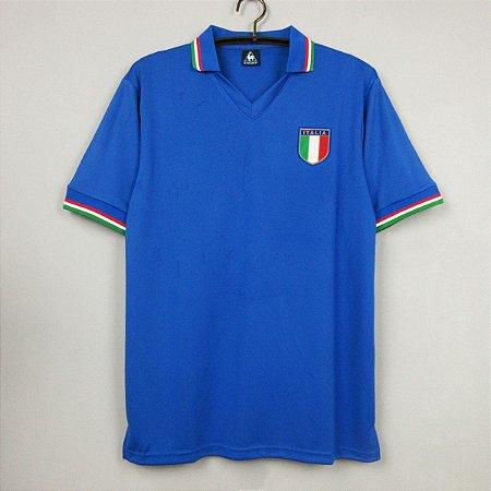 Camisa Itália  1982 (Home-Uniforme 1)  - Copa do Mundo