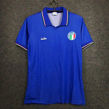 Camisa Itália 1990 (Home-Uniforme 1)  - Copa do Mundo