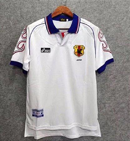 Camisa Japão 1998 (Away-Uniforme 2) - Copa do Mundo