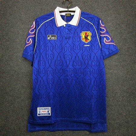 Camisa Japão 1998 (Home-Uniforme 1) - Copa do Mundo
