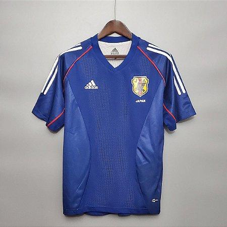 Camisa Japão 2002 (Home-Uniforme 1) - Copa do Mundo