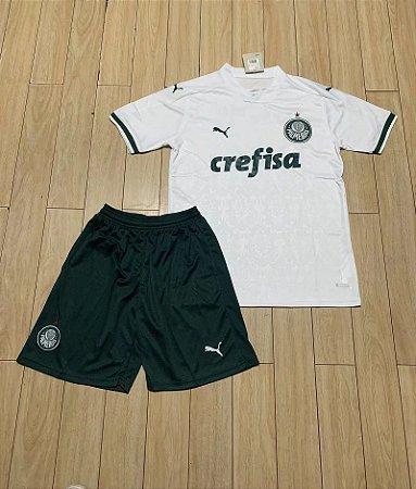 Conjunto Infantil (Camisa + Shorts) Palmeiras 2020-21 (Away-Uniforme 2)