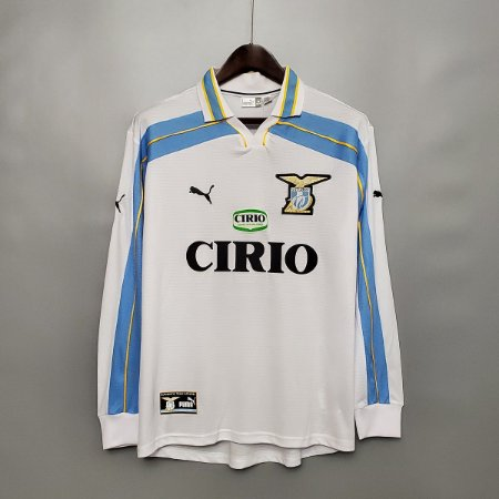 Camisa Lazio 1999-2000 (Away-Uniforme 2) - Manga Longa