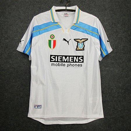 Camisa Lazio 2000-2001 (Away-Uniforme 2) - Centenário