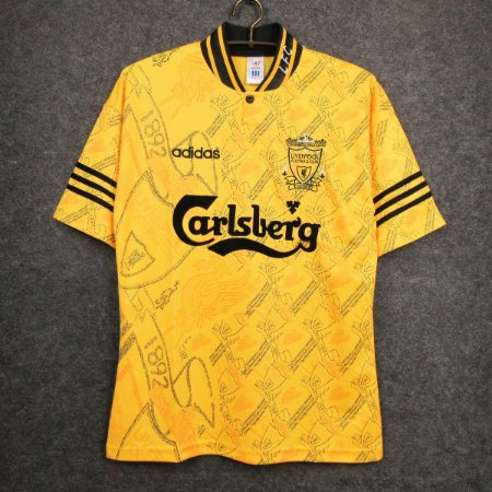 Camisa Liverpool 1994-1996 (Third-Uniforme 3)