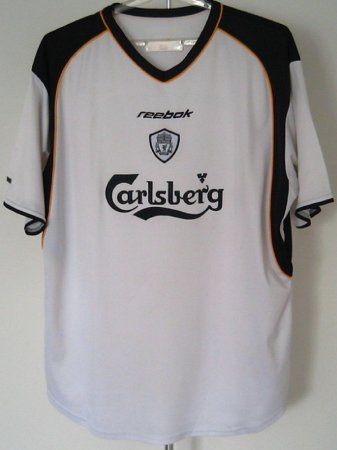 Camisa Liverpool 2001-2002 (Away-Uniforme 2)
