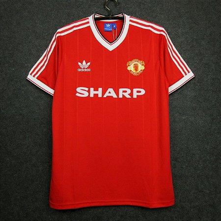 Camisa Manchester United 1983-1984 (Home-Uniforme 1)
