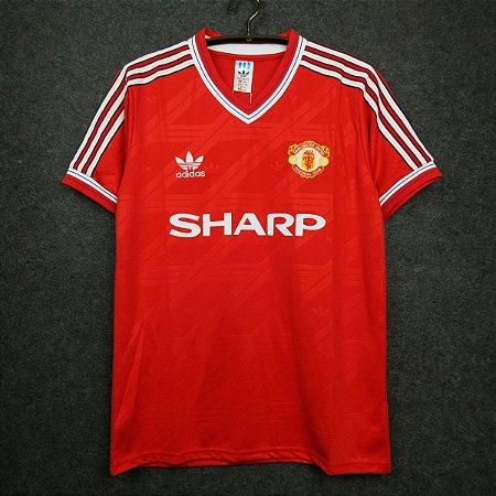 Camisa Manchester United 1986-1987 (Home-Uniforme 1)