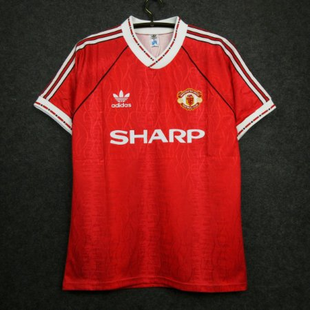 Camisa Manchester United 1990-1992 (Home-Uniforme 1)