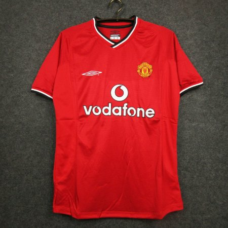 Camisa Manchester United 2000-2001 (Home-Uniforme 1)