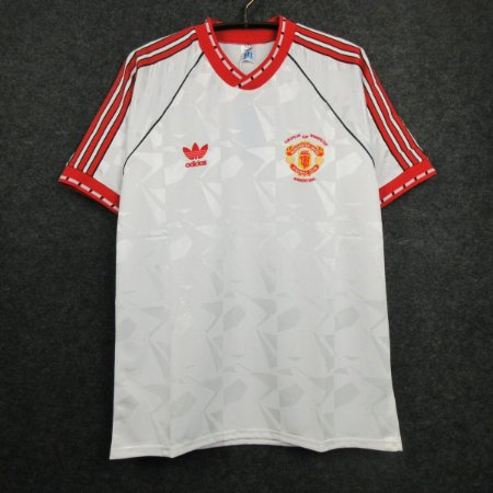 Camisa Manchester United 1990-91 - Final da Recopa Européia (UEFA Cup Winners' Cup)
