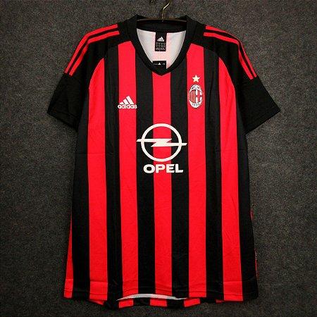 Camisa Milan 2002-2003 (Home-Uniforme 1)
