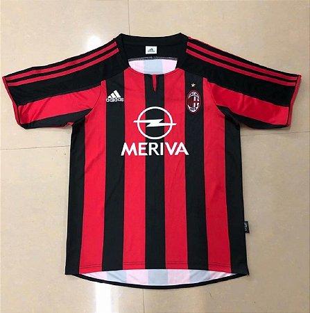 Camisa Milan 2003-2004 (Home-Uniforme 1)