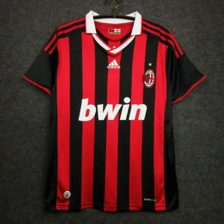 Camisa Milan 2009-2010 (Home-Uniforme 1)