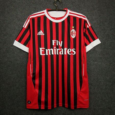 Camisa Milan 2011-2012 (Home-Uniforme 1)
