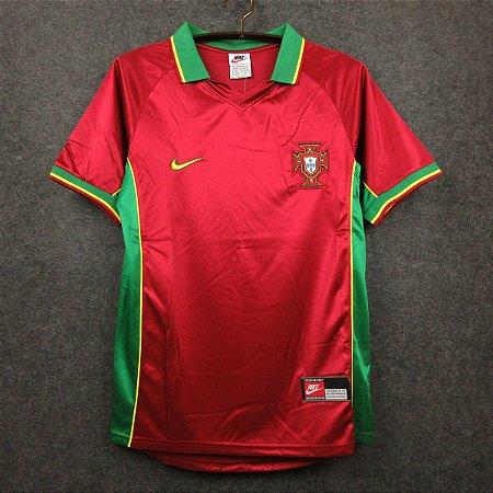 Camisa Portugal 1998 (Home-Uniforme 1)