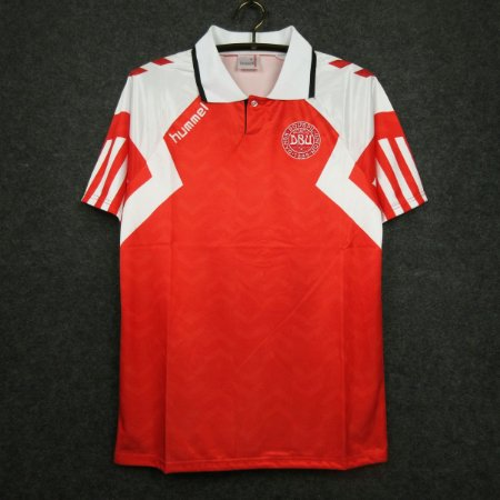 Camisa Dinamarca 1992 (Home-Uniforme 1)  - Eurocopa (campeã)