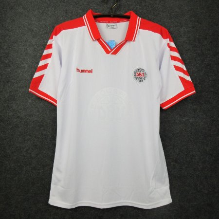 Camisa Dinamarca 1998 (Away-Uniforme 2)  - Copa do Mundo
