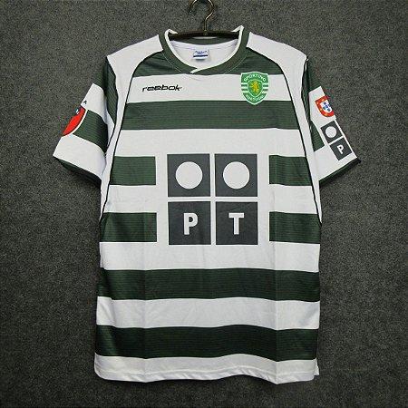 Camisa Sporting 2001-2003 (Home-Uniforme 1)