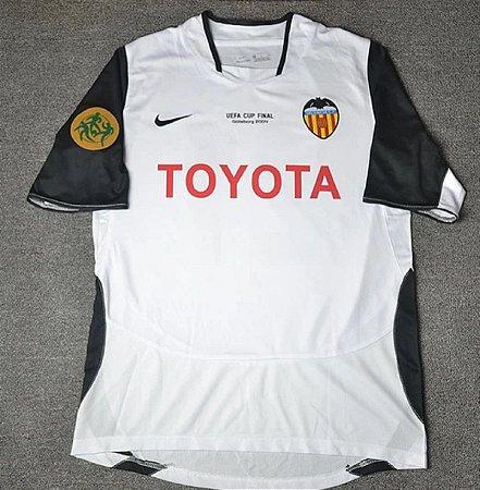 Camisa Valencia 2003-2004 - Copa da UEFA (Final)
