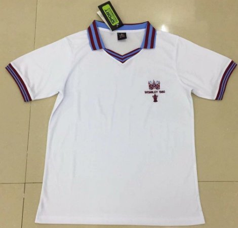Camisa West Ham  1980 F.A. Cup Final