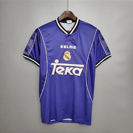 Camisa Real Madrid 1997-1998 (Away-Uniforme 2)