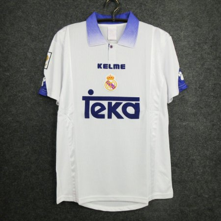 Camisa Real Madrid 1997-1998 (Home-Uniforme 1)