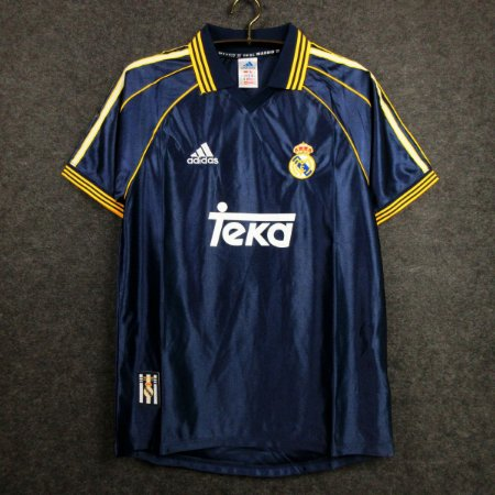 Camisa Real Madrid 1998-1999 (Third-Uniforme 3)