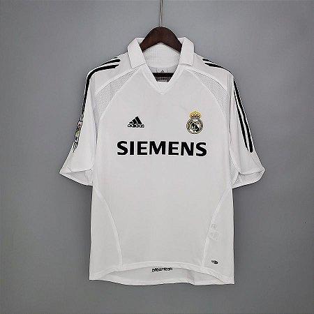 Camisa Real Madrid 2005-2006 (Home-Uniforme 1)