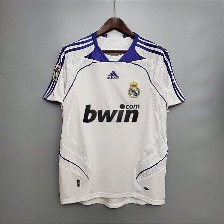 Camisa Real Madrid 2007-2008 (Home-Uniforme 1)
