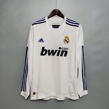 Camisa Real Madrid 2010-2011 (Home-Uniforme 1) - Manga Longa