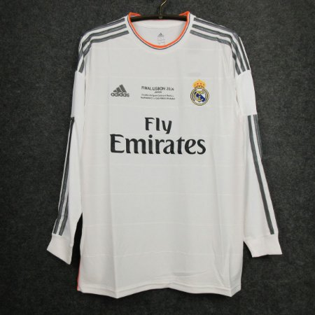 Camisa Real Madrid 2013-2014 (Uniforme 1) - Final Champions League