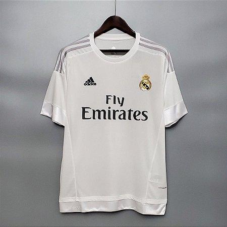 Camisa Real Madrid 2015-2016 (Home-Uniforme 1)