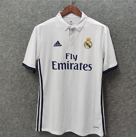 Camisa Real Madrid 2016-2017 (Home-Uniforme 1)