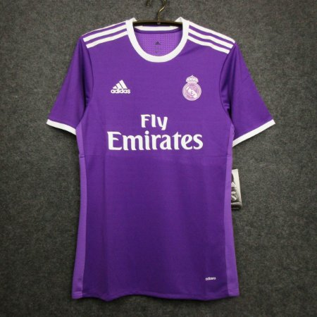 Camisa Real Madrid 2016-2017 (Away-Uniforme 2)