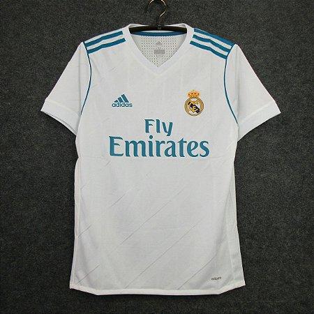 Camisa Real Madrid 2017-2018 (Home-Uniforme 1)