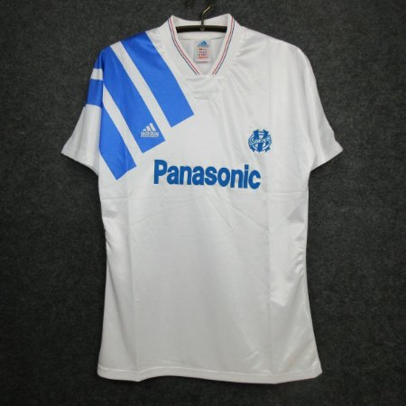 Camisa Olympique Marseille 1991-1992 (Home-Uniforme 1)