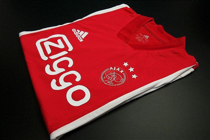 Camisa Ajax 2020-21 (Home-Uniforme 1) - Modelo Jogador