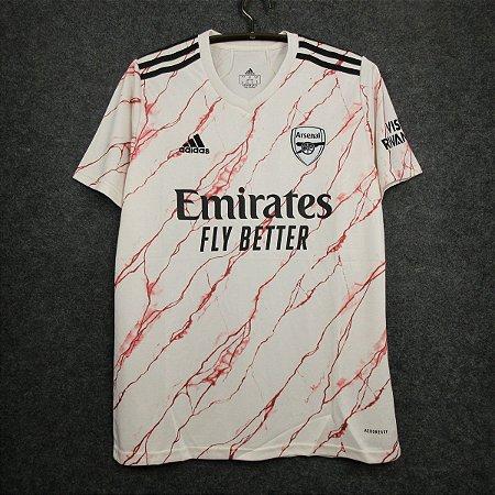 Camisa Arsenal 2020-21 (Away-Uniforme 2) - Modelo Torcedor