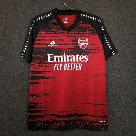 Camisa Arsenal (treino - pré-jogo 1) 2020-21