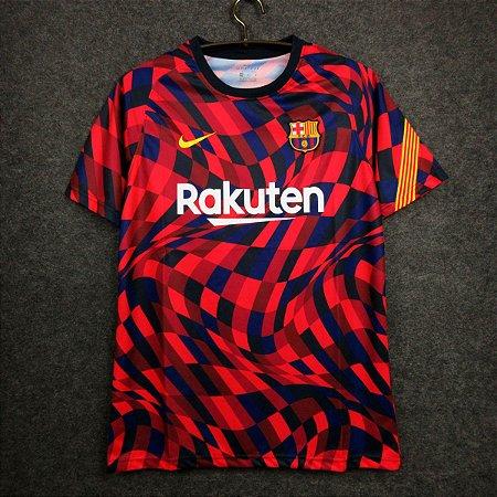 Camisa Barcelona 2020-21 (pré-jogo)