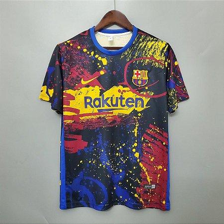 Camisa Barcelona 2020-21 (treino 2)