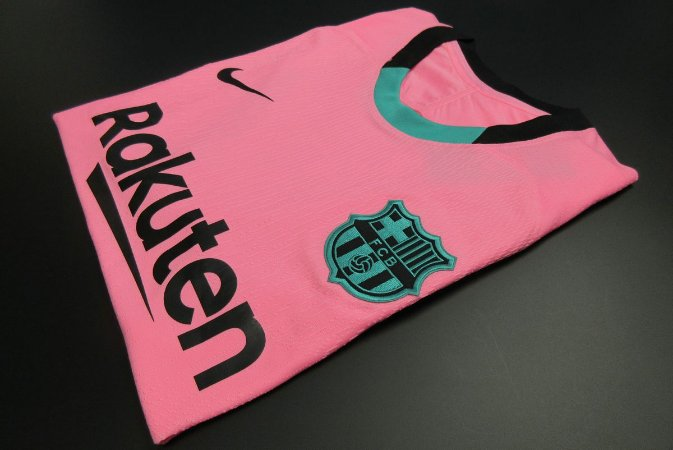 Camisa Barcelona 2020-21 (Third-Uniforme 3) - Modelo Jogador